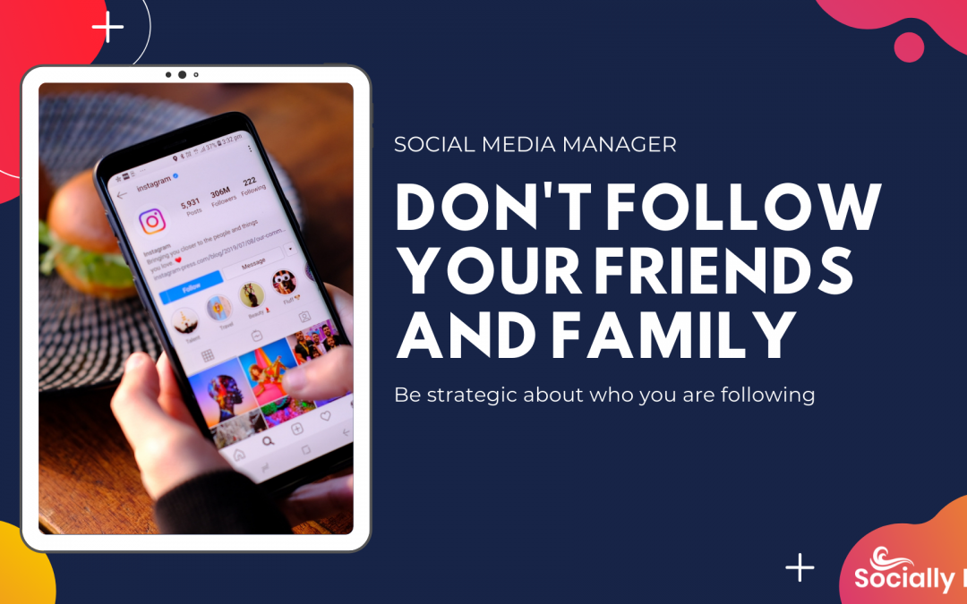 Who you follow matters! Follow my advice to help your account grow.
